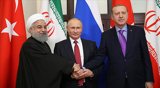 Sochi Summit: Iran, Russia, Turkey Hold Syria Talks