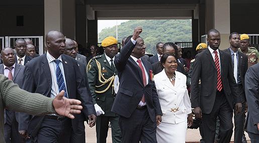 Mnangagwa «The Crocodile» Sworn In As Zimbabwe's New President