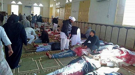 Egypt Mosque Attack: 230+ Martyred in Sinai Massacre