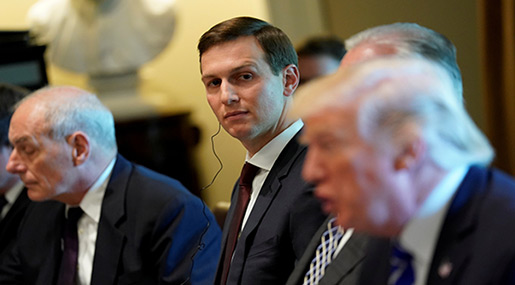 Kushner Can't Bring Peace to the Middle East