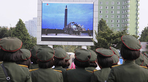 Tokyo, Seoul Alarmed by Radio Signals from N Korea