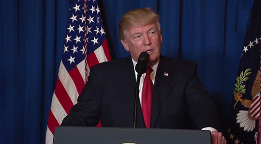 Trump Claims US Strikes against Syrian Army 'Lawful'