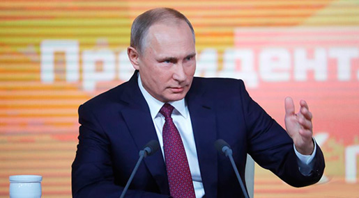 Putin: US Has De Facto Left Missile Treaty, Russia Will Not