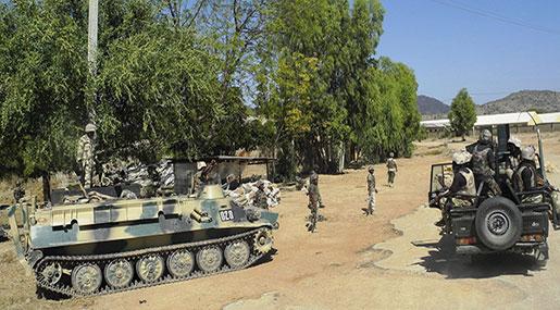 Nigeria Troops Arrest 400+ Boko Haram Terrorists, Families