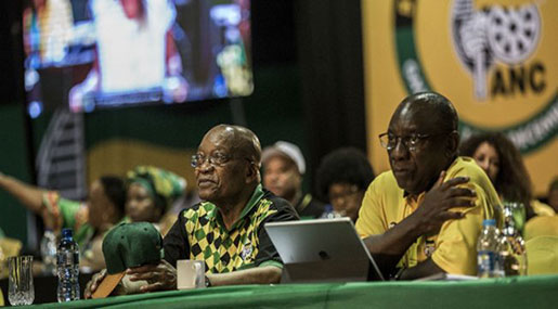 South Africa's ANC Votes On New Leader in All-Night Ballot