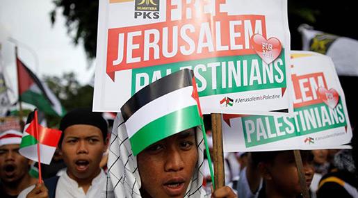 Indonesians Rap Trump's Al-Quds Move as Clerics Call for US Product Boycott