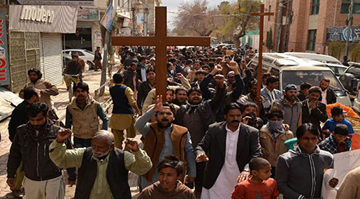 Daesh Suicide Bombers Attack Christian Church in Pakistan's Quetta, 9 Victims, Scores Wounded