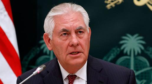 Tillerson: US Building Alliances to Confront Iran