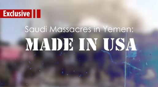 Saudi Massacres in Yemen: Made in USA