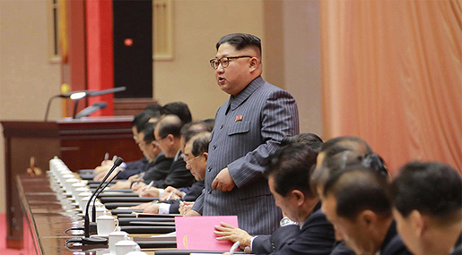 Kim to US: North Korea will Mass-Produce Nukes, Nuclear button always on my Table