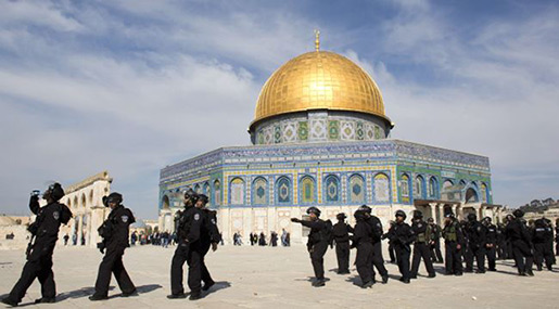 79 Extremist «Israeli» Settlers Storm Al-Aqsa Mosque