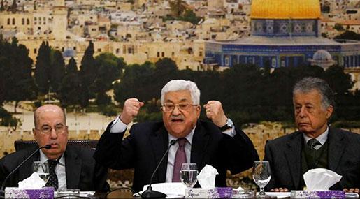 Mahmoud Abbas Slams Trump's Efforts as 'Slap of the Century'