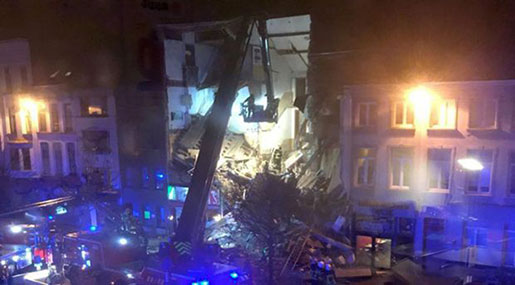 Belgium: Building Collapses After Explosion, Terrorism Ruled Out