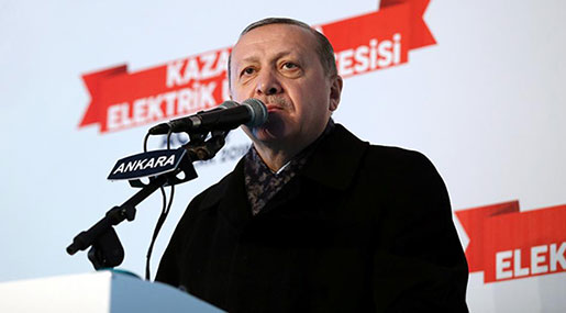 Erdogan: We Will 'Strangle' US-Backed Force in Syria 'Before It's Even Born'