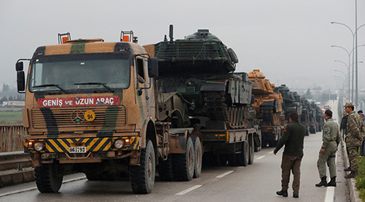 Turkey Launches Afrin Op «De Facto» in Syria with Cross-Border Shelling