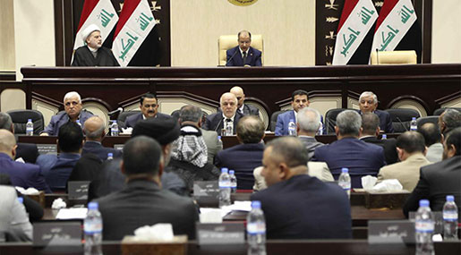 Iraq Sets Parliamentary Elections for May 12