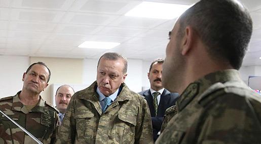 Erdogan Threatens to Expand Syria Border Incursion