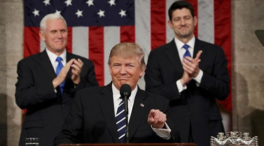 State of the Union: Trump Tackles Iran Deal, Tax Cut and Immigration Plan in First Address