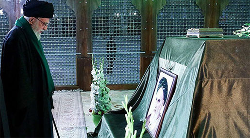 Imam Khamenei Pays Tribute to Imam Khomeini, Sacred Defense Martyrs [Photos]