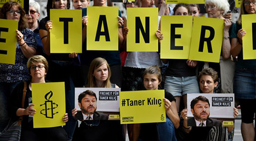 Turkey Detains Amnesty Chief after Court Orders Release