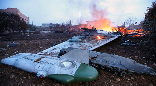 Russia MoD: Su-25 Pilot Blew Himself Up After Being Encircled by Terrorists