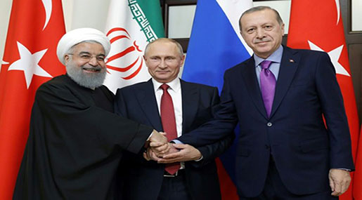 Turkey to Host Syria Summit with Russia, Iran