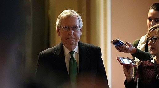 US Gov't into 2nd Shutdown: Senate Misses Funding Deadline