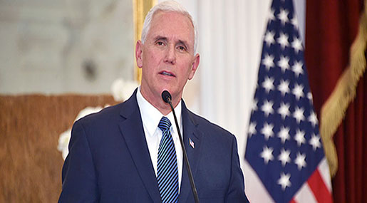 US VP Pence Raises Prospect of Talks with N Korea amid 'Intensified' Pressure