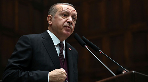 Erdogan Threatens US, Says All NATO Countries Equal