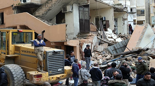 Mother, Daughter Killed In Beirut Building Collapse