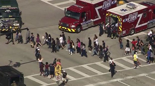 Florida School Shooting: At Least 17 Dead