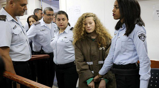 I'm Ahed Tamimi's Cousin. «Israel» Needs To Stop Imprisoning Kids Like Her.