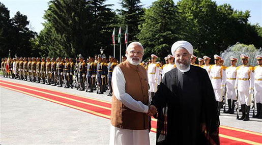 Rouhani Visits India, Urges Muslim Unity In Face Of Enemies
