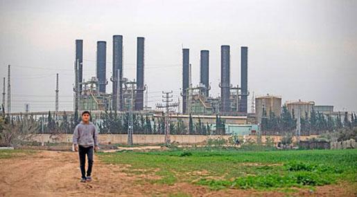 Gaza's Catastrophe: Sole Power Plant Shut over Lack of Fuel