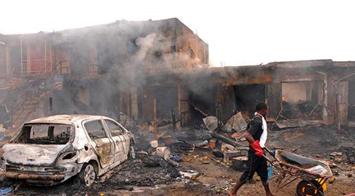 Nigeria Attacks: Suicide Blasts Kill 19 in Maiduguri