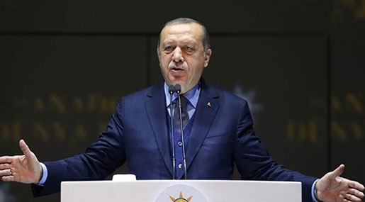 Erdogan: Turkey to Lay Siege to Syria's Afrin in Coming Days