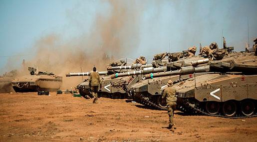 Top 'Israeli' General: Al-Assad Victories Increase War Chances in Golan Heights