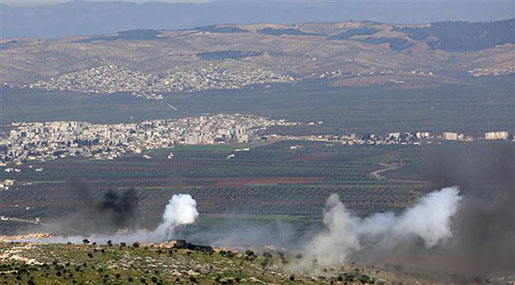 Turkey Shells Pro-Gov't Forces as They Enter Syria's Afrin