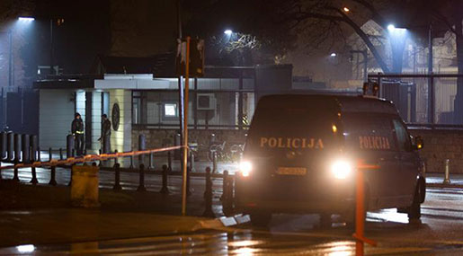 Grenade Thrown at US Embassy in Montenegro, Attacker Commits Suicide