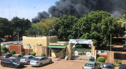 Explosion Hits Army HQ in Burkina Faso, Not Far From French Embassy