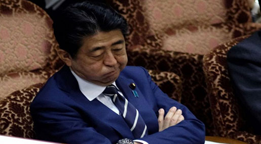 Japan Opposition Turns up Heat on PM Abe over Cronyism Scandal