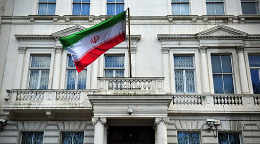 Iran Strongly Condemns Attack on Its Embassy in London