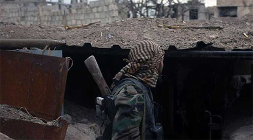 Syrian Army Finds Chemical Weapons' Workshop in Eastern Ghouta