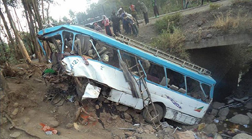 Ethiopia Bus Crash: 38 Students Killed, 19 Injured