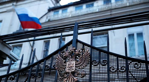 Moscow Says to Retaliate Soon to UK's Expulsion of Diplomats