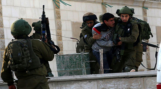'Israel' Detains 1,319 Palestinians, 274 Minors during January, February