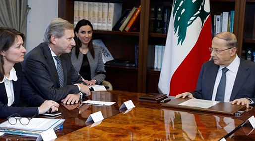 Official: EU Ready to Support Lebanon's Development