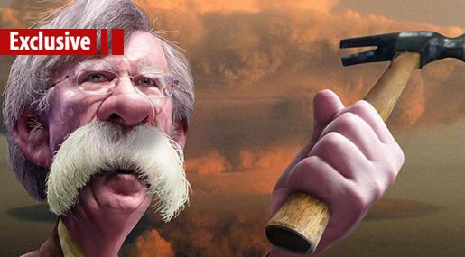 John Bolton: The Cartoonish Hawk