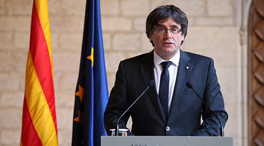 Catalonia's Ex-Leader Puigdemont to Be Brought before Judge in Germany