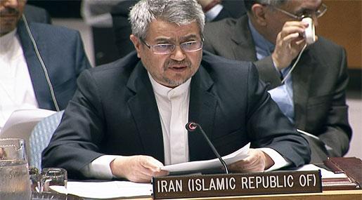Iran's UN Envoy Urges Saudi Arabia to End Yemen War